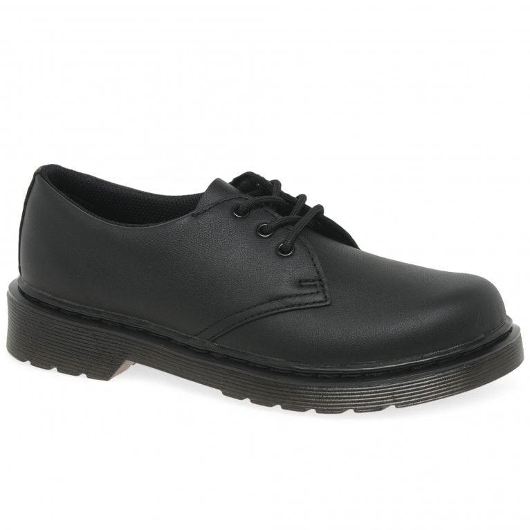 Dr. Martens Everley Junior 3 Eye Boys School Shoes