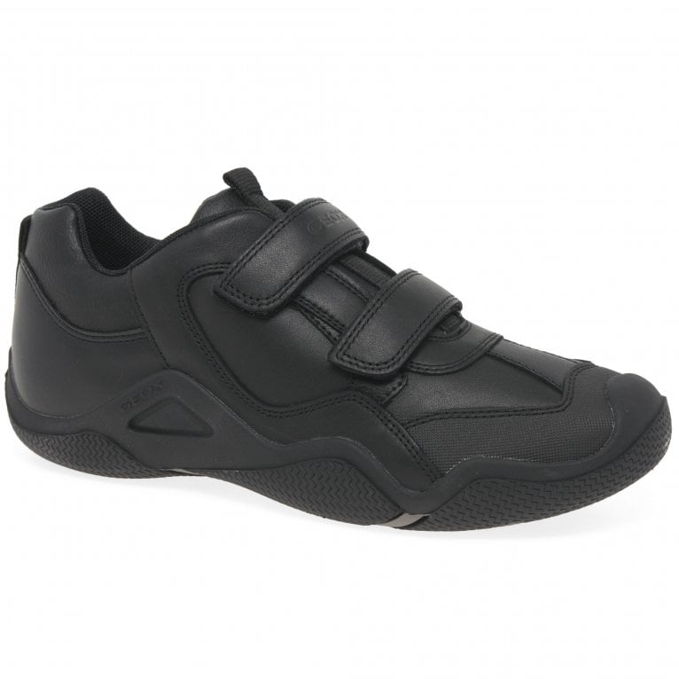 Geox Junior Wader A Boys Rip Tape Breathable School Shoes