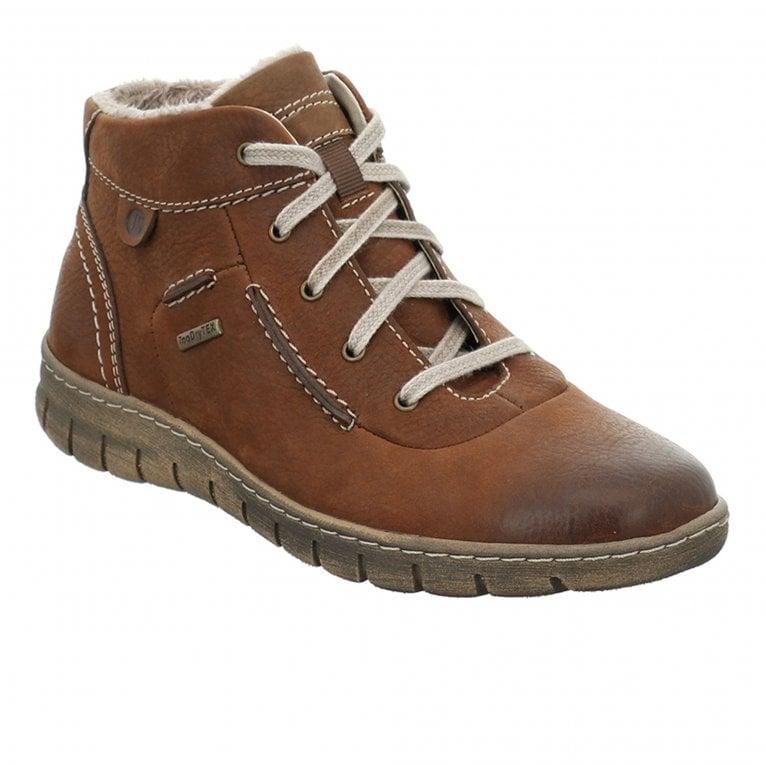 Josef Seibel Steffi 53 Womens Waterproof Lace Up Ankle Boots