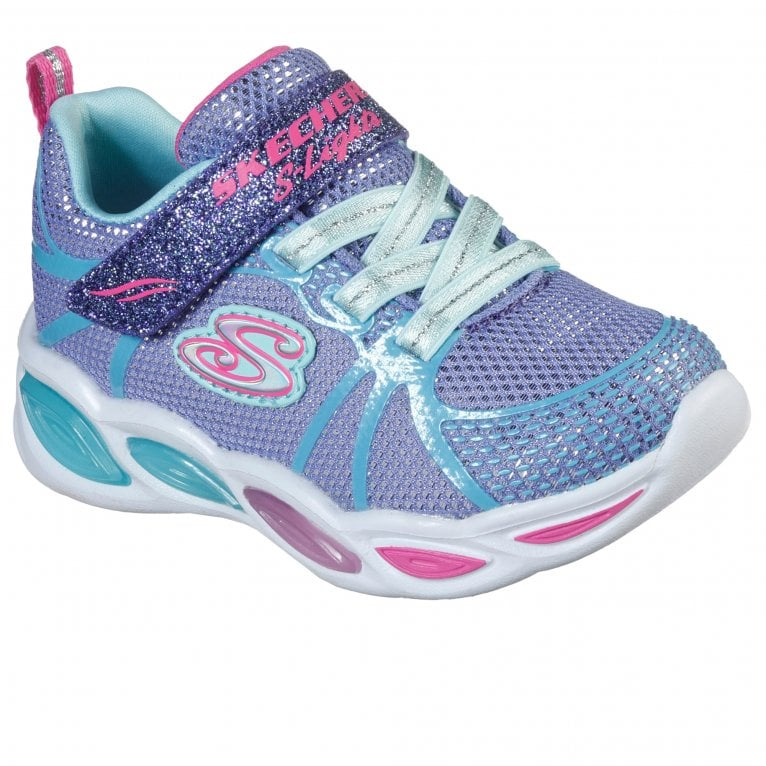 Skechers Shimmer Beams Girls Toddler Sports Trainers