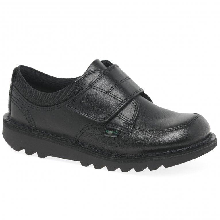Kickers Kick Scuff Lo Boys Junior School Shoes