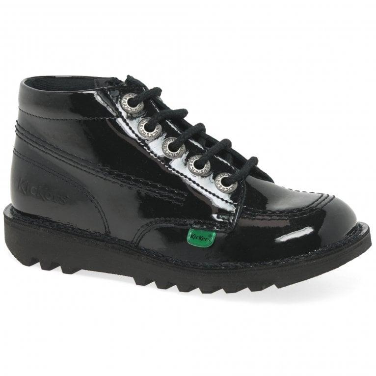 Kickers Chi Zip Girls Junior Boots