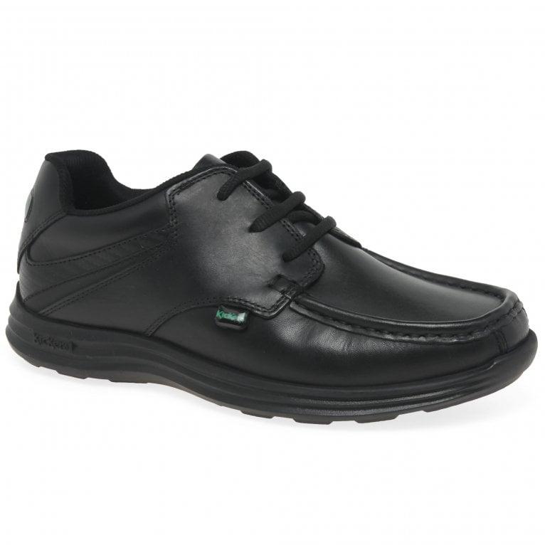 Kickers Reasan Lace Junior Boys School Shoes