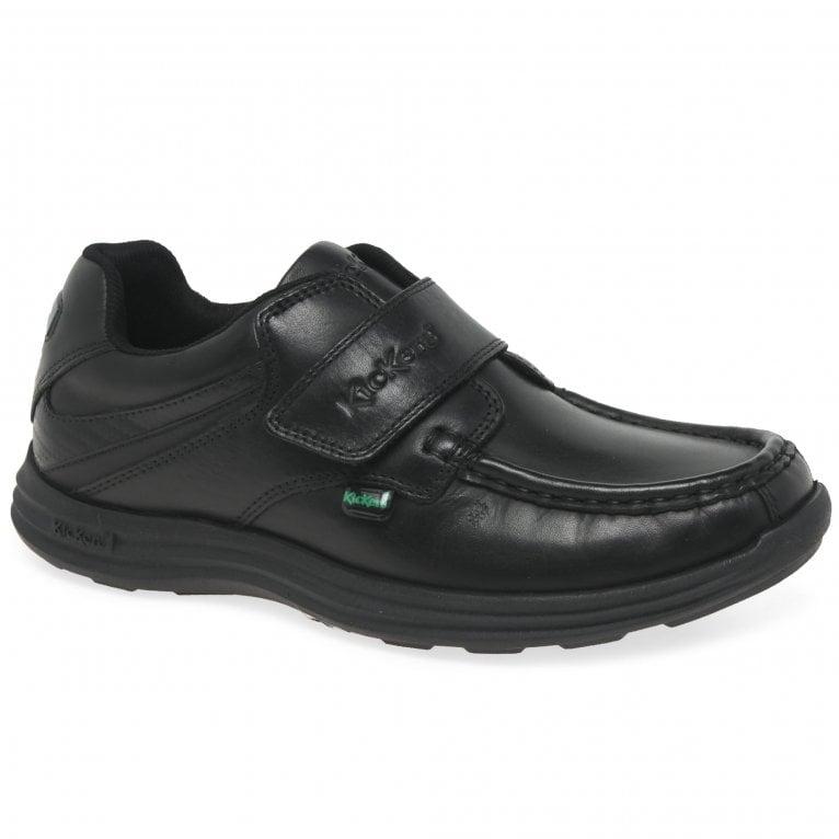 Kickers Reasan Strap Youth Boys School Shoes