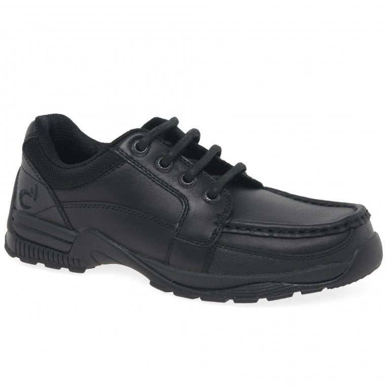 Start-Rite Dylan Boys Leather Lace Up Senior School Shoes