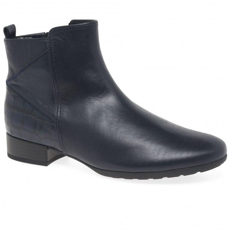 Gabor Bastia Womens Wide Fitting Ankle Boots