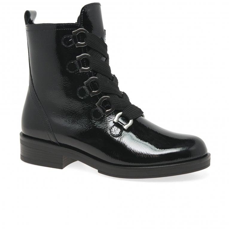 Gabor Halkirk Womens Military Boots