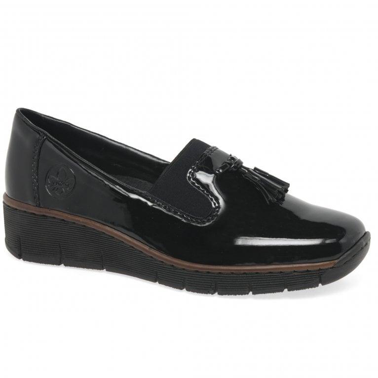 Rieker Gleam Womens Tassel Loafers