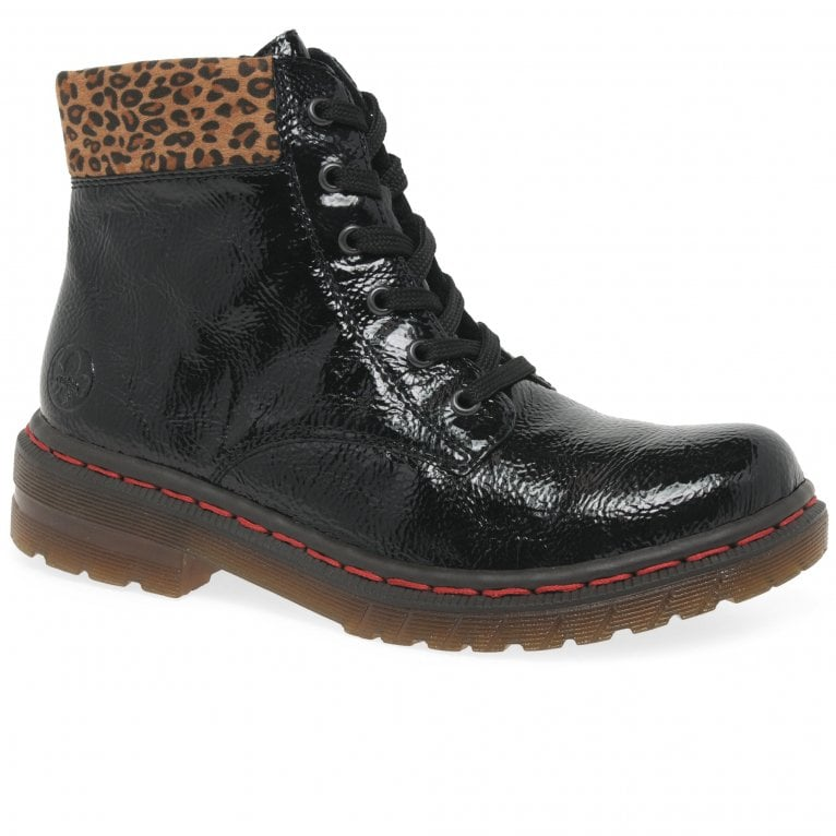 Rieker Leopard II Womens Ankle Boots