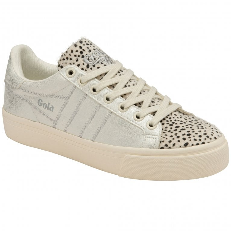 Gola Orchid II Cheetah Womens Casual Trainers