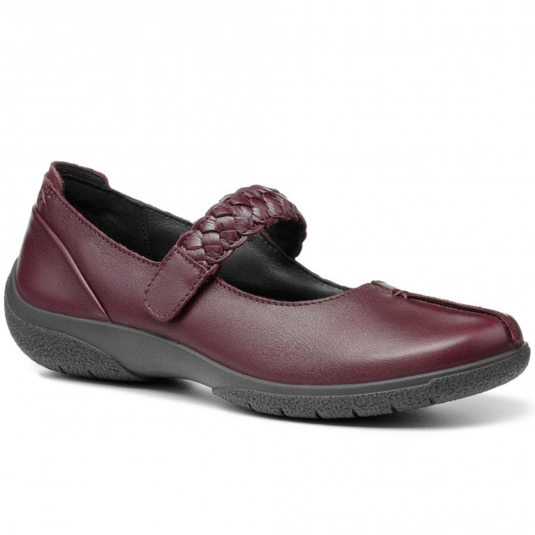 Hotter Shake II Womens Extra Wide Fit Mary Jane Shoes