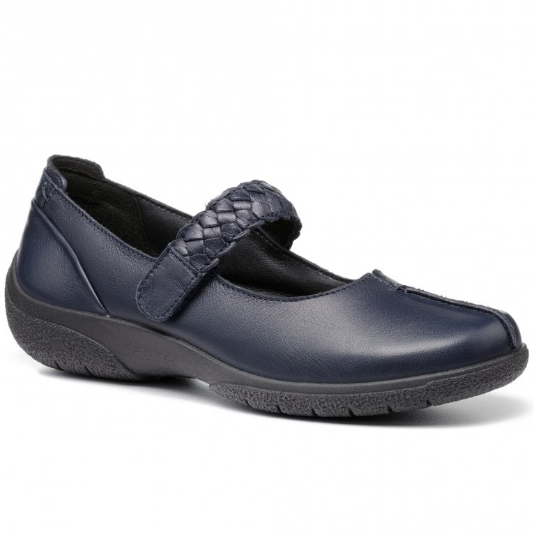 Hotter Shake II Womens Wide Fit Mary Jane Shoes