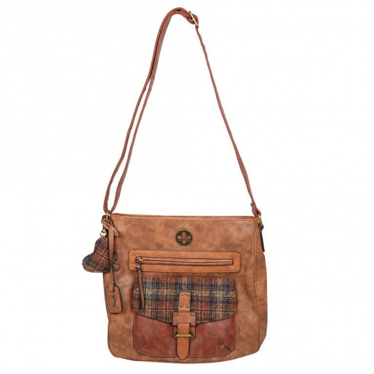 Rieker Flame Womens Messenger Handbag