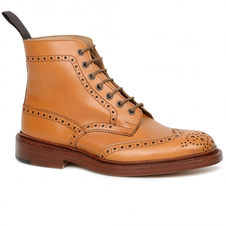 Tricker's Stow 5634/2 Mens Derby Brogue Boots