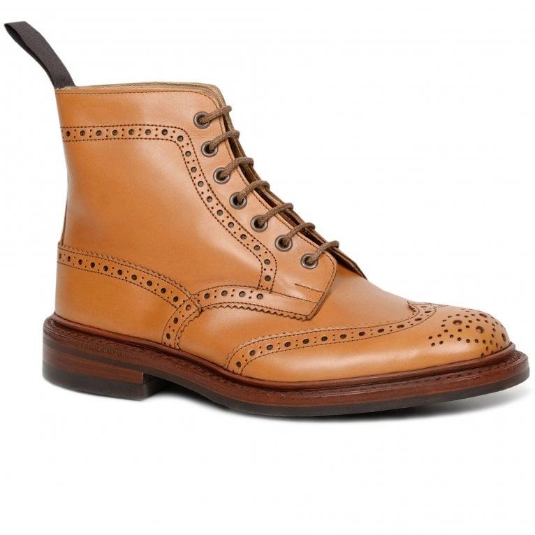 Tricker's Stow 5634/24 Dainite Mens Derby Brogue Boots