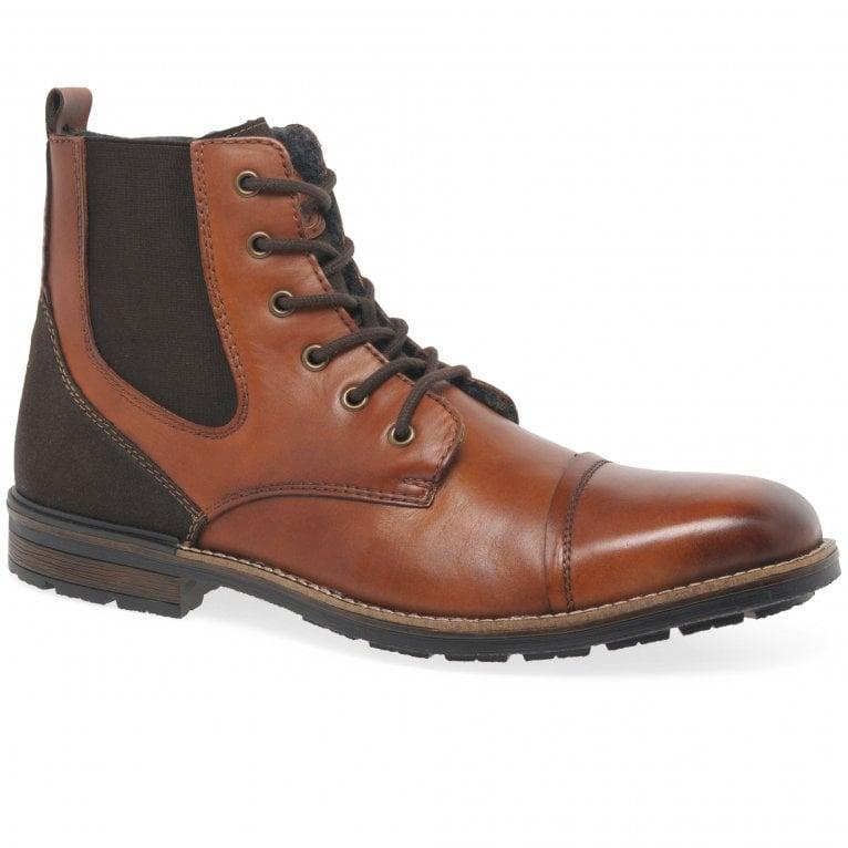Rieker Genesis Mens Lace Up Boots