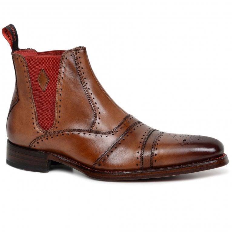Jeffery-West Dexter Point Mens Chelsea Boots