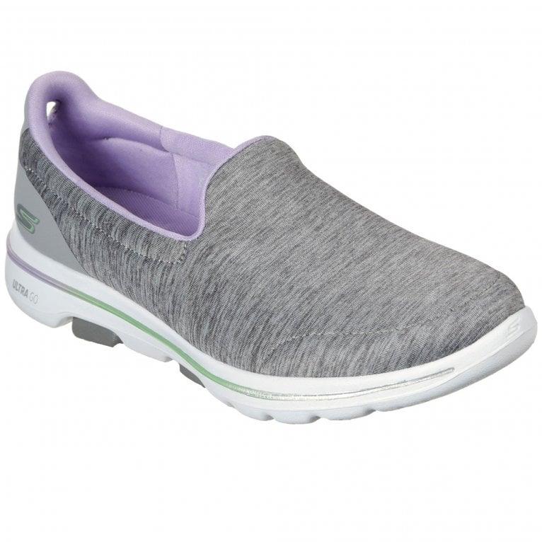 Skechers GOWalk 5 Surprise Womens Slip On Sports Shoes