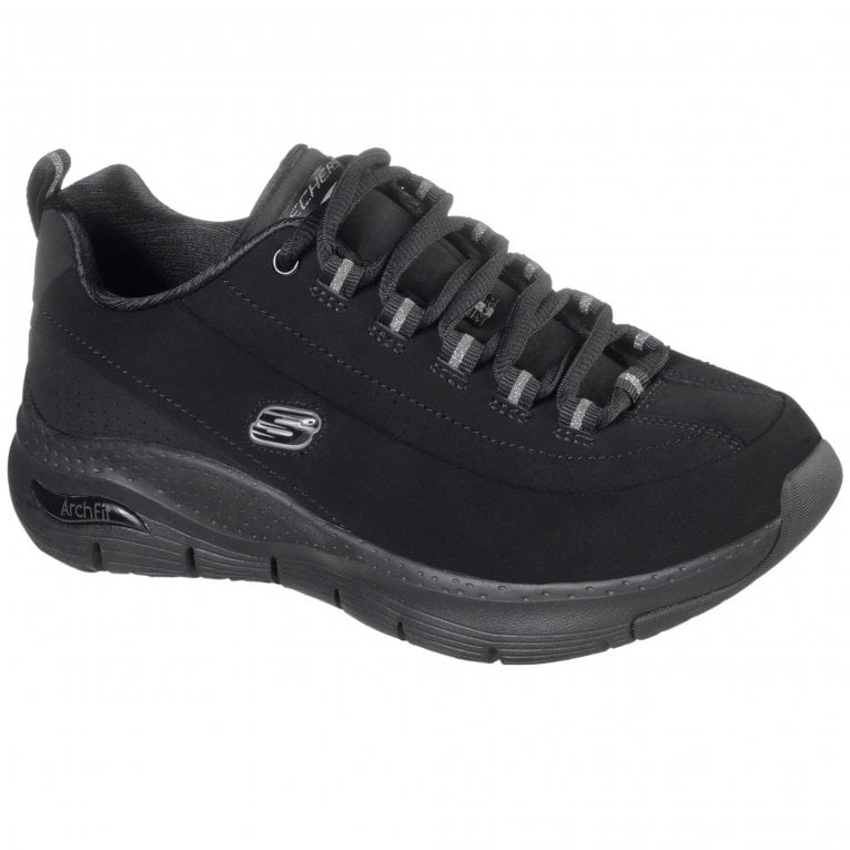 Skechers Arch Fit Metro Skyline Womens Sports Shoes