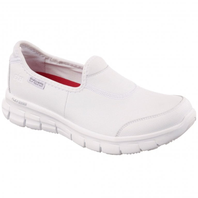 Skechers Sure Track Womens Slip On Sports Shoes