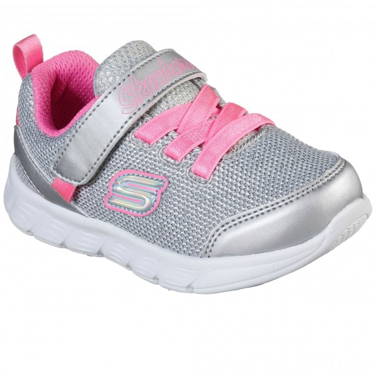 Skechers Comfy Flex Moving On Girls Trainers
