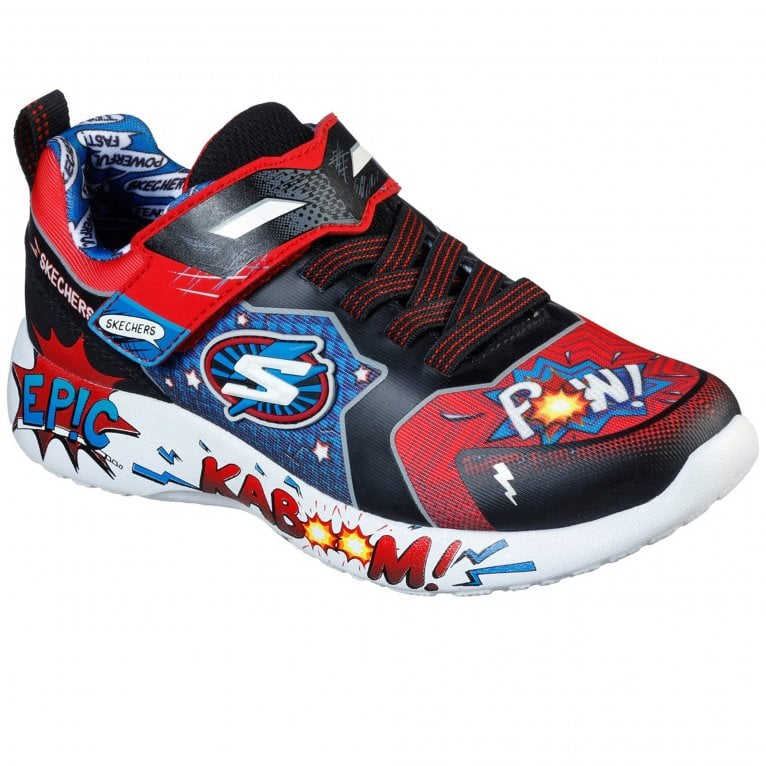 Skechers Dynamight Defender Squad Boys Trainers