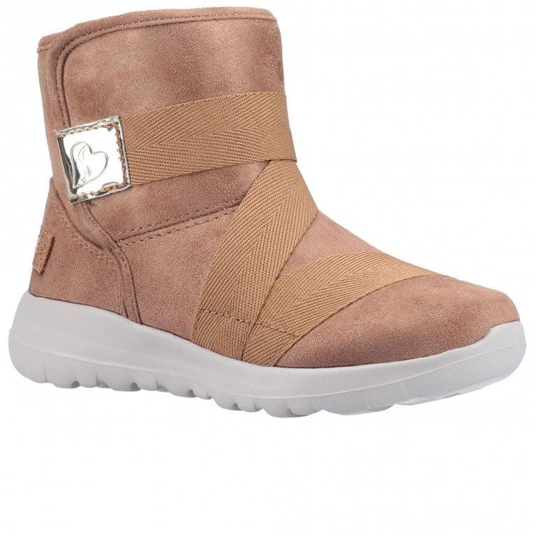 Skechers Go Walk Joy Strong Willed Girls Boots