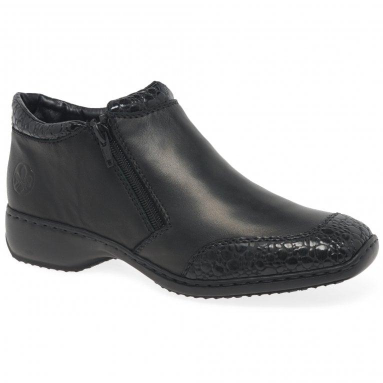 Rieker Dotty Womens Zip Fastening Boots