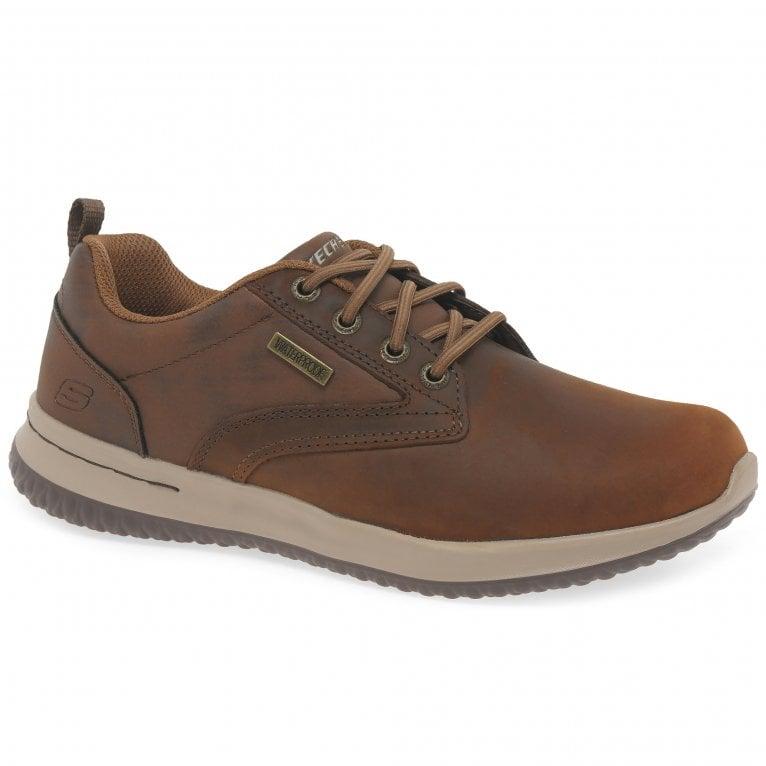 Skechers Delson Antigo Mens Waterproof Shoes
