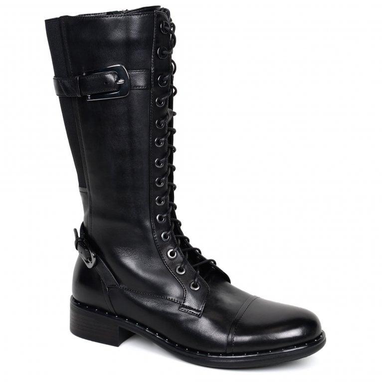 Regarde Le Ciel Roxana 10 Womens Calf Length Boots