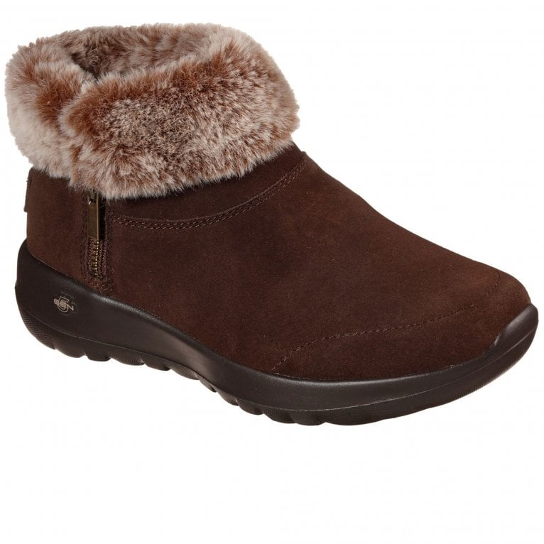 Skechers On-The-Go Joy Savvy Womens Ankle Boots