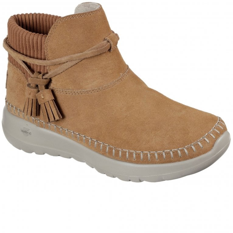 Skechers On-The-Go Joy Allure Womens Ankle Boots
