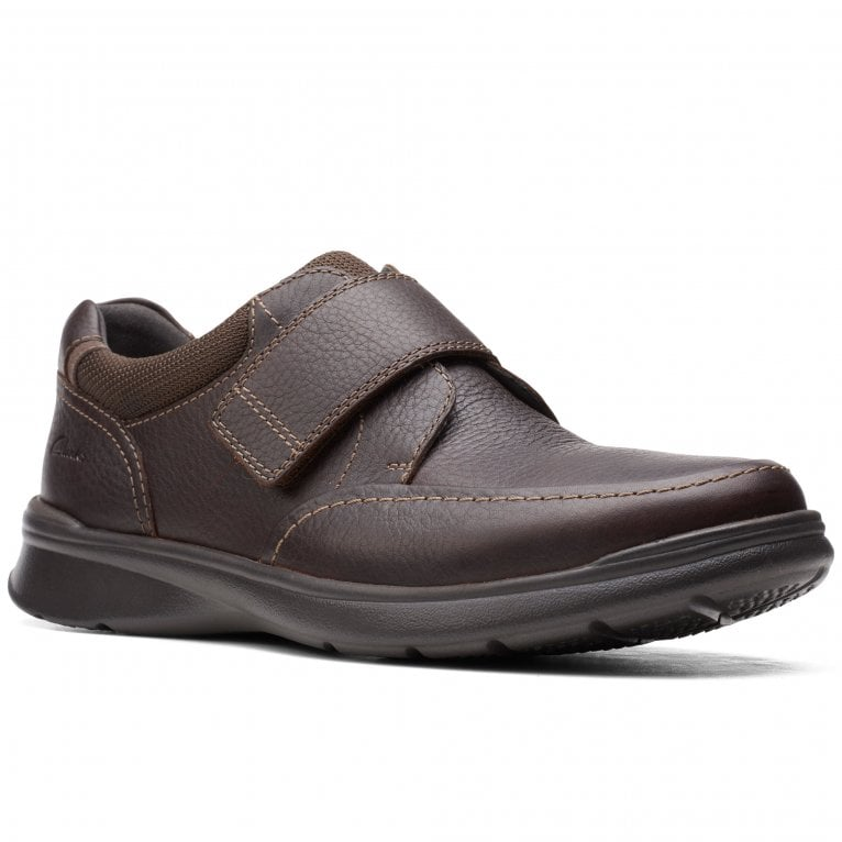 Clarks Cotrell Strap Mens Wide Fit Casual Shoes