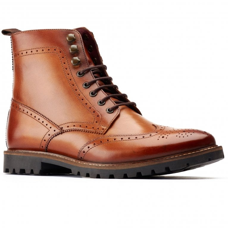 Base London Boone Mens Brogue Boots