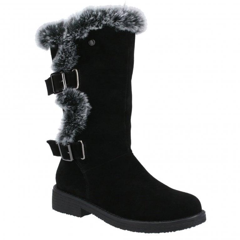 Hush Puppies Megan Womens Calf Boots