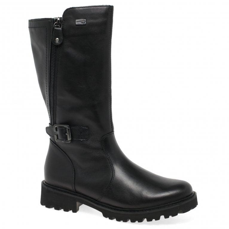 Remonte Boundary Womens Calf Length Boots