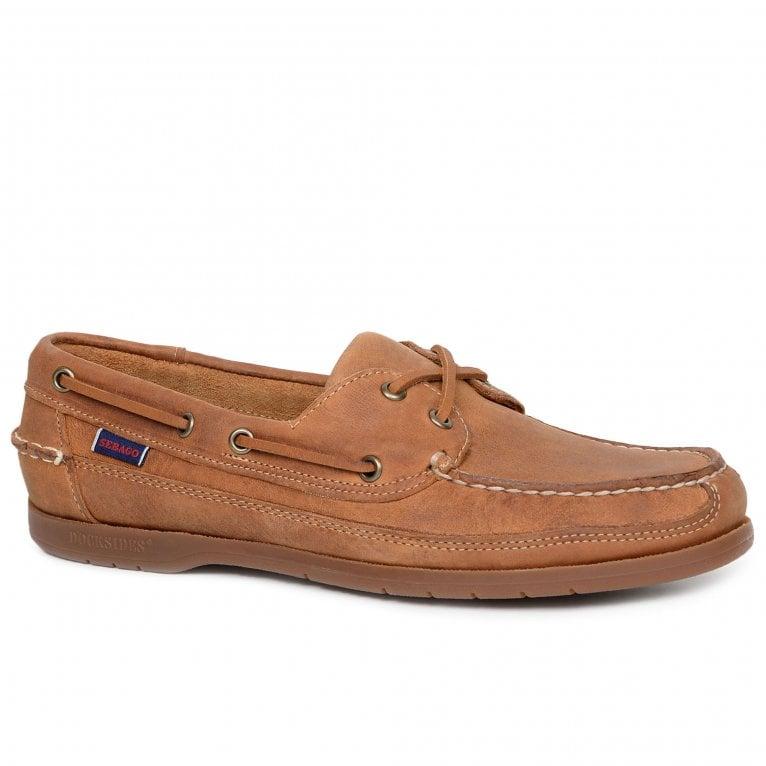 Sebago Schnooner Mens Suede Boat Shoes