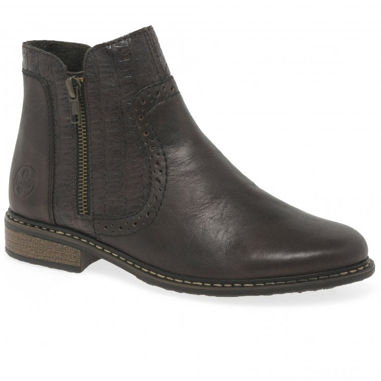 Rieker Elect Womens Ankle Boots