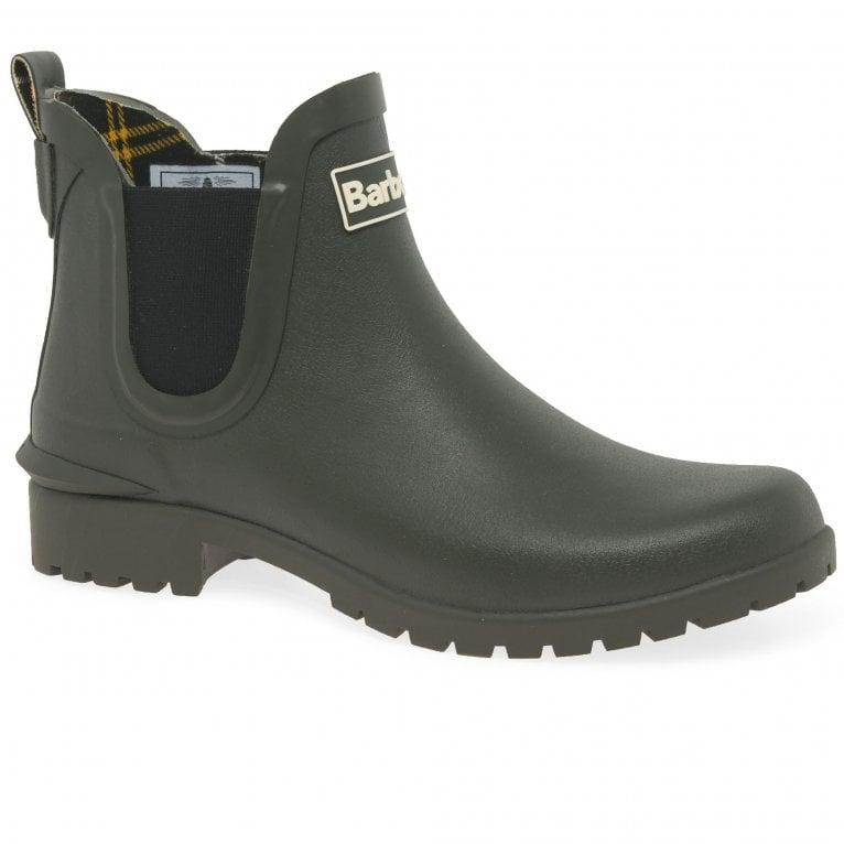 Barbour Wilton Womens Wellington Ankle Boots