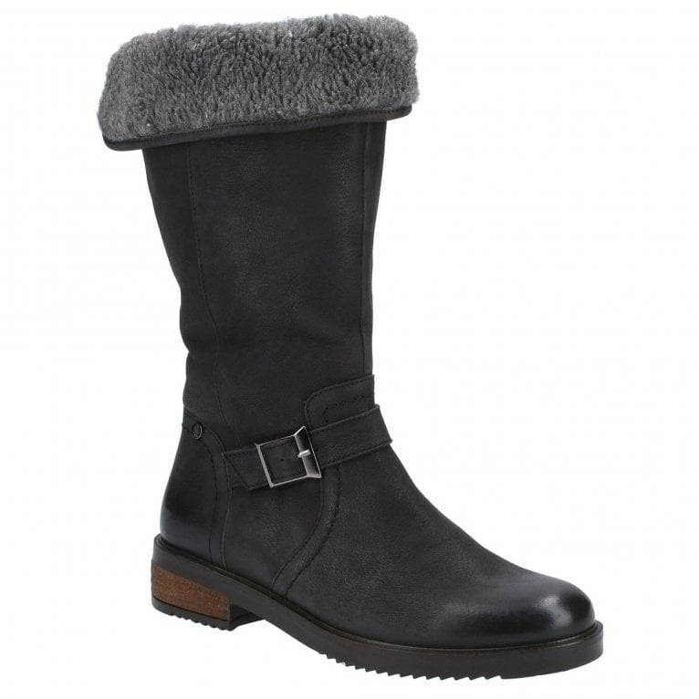 Hush Puppies Bonnie Womens Calf Boots