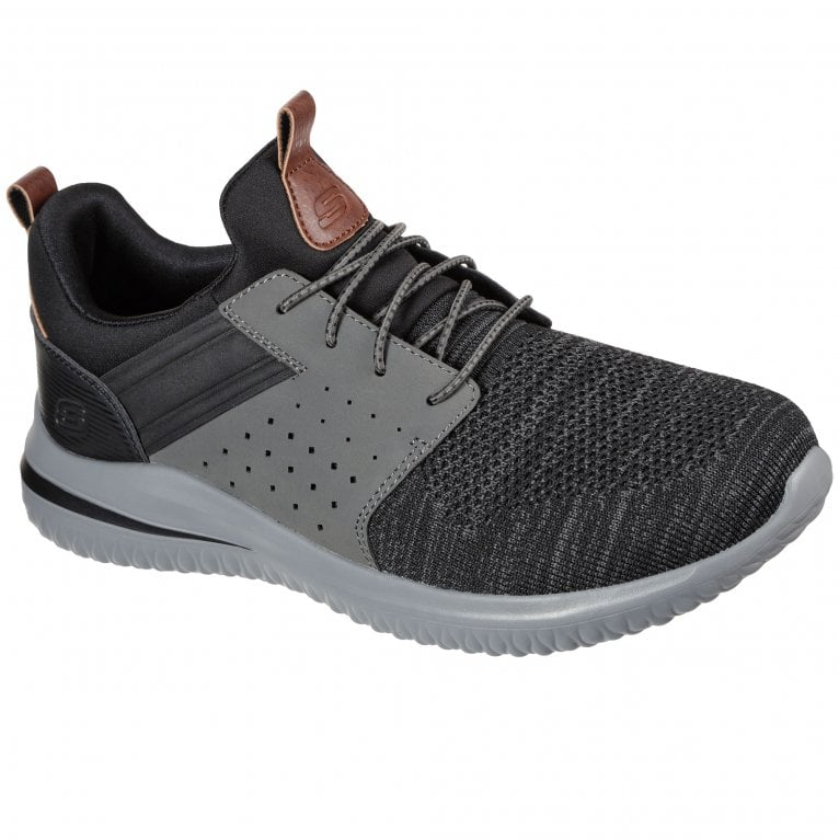 Skechers Delson 3.0 Cicada Mens Casual Trainers