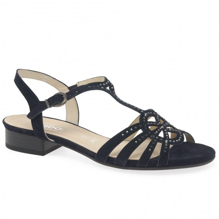 Gabor Expance Womens Block Heel Sandals