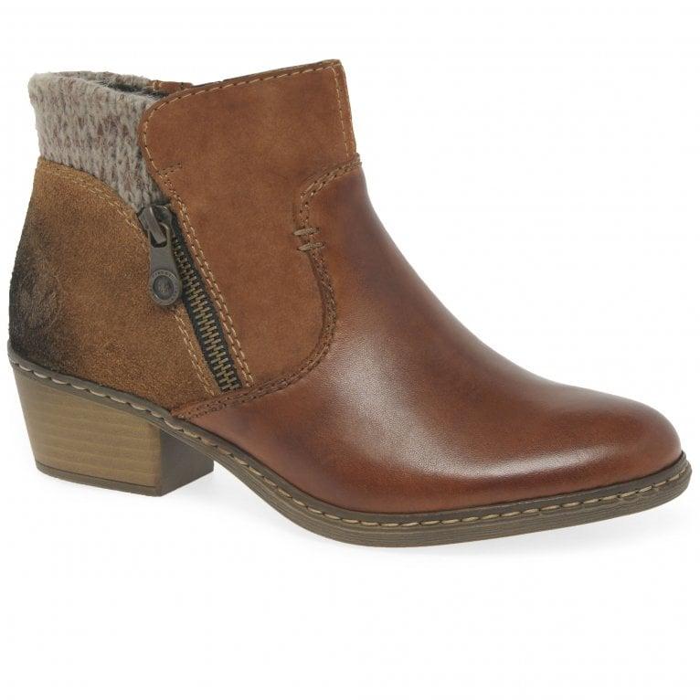 Rieker Casper Womens Ankle Boots