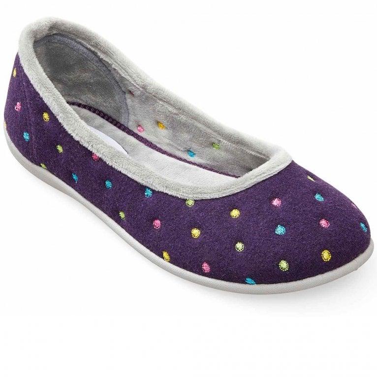 Padders Ballerina Womens Full Slippers