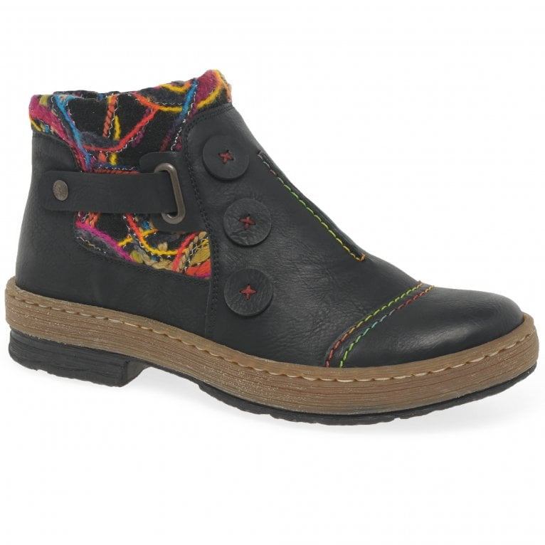 Rieker Zena Womens Ankle Boots