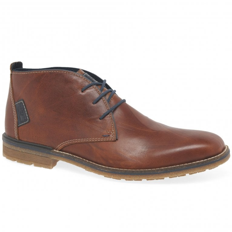 Rieker Preston Mens Chukka Casual Lace Up Ankle Boots