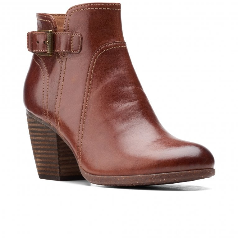 Clarks Bergen Vibe Womens Ankle Boots