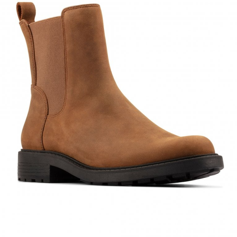 Clarks Orinoco2 Top Womens Wide Fit Chelsea Boots