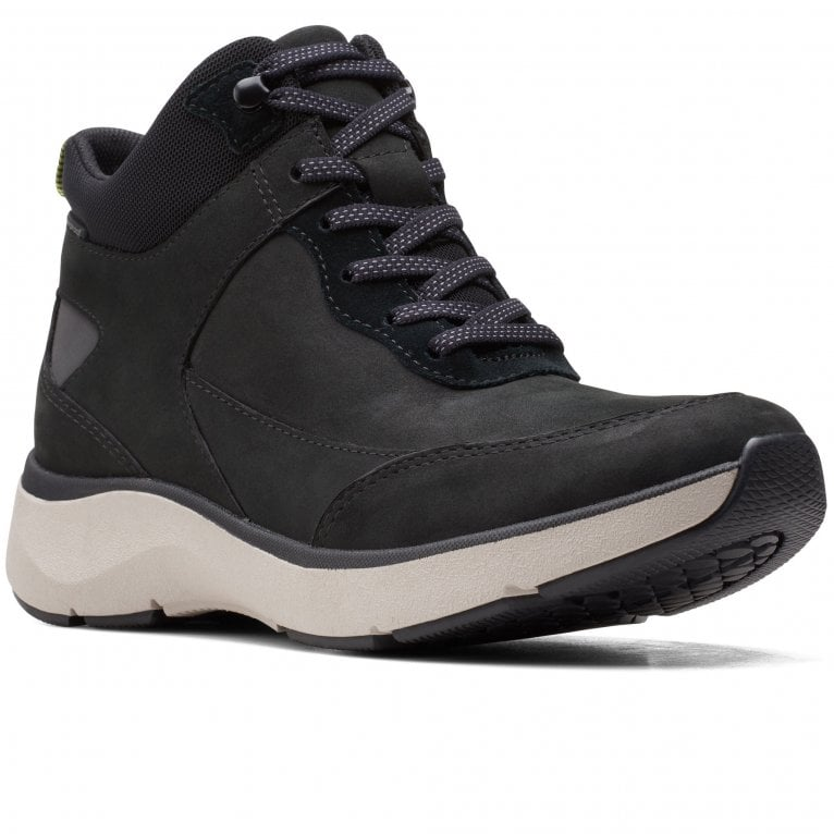 Clarks Wave2.0 Mid Womens Walking Boots