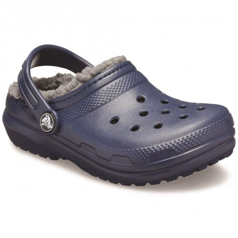 Crocs Classic Lined Childrens Clogs